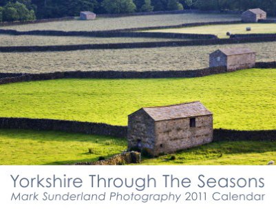 Yorkshire Through The Seasons 2011 Calendar