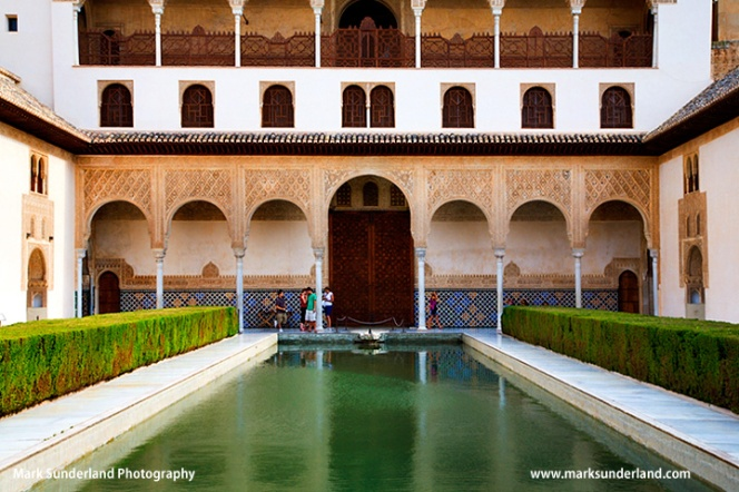 South Gallery Courtyard of the Myrtles Alhambra Palace