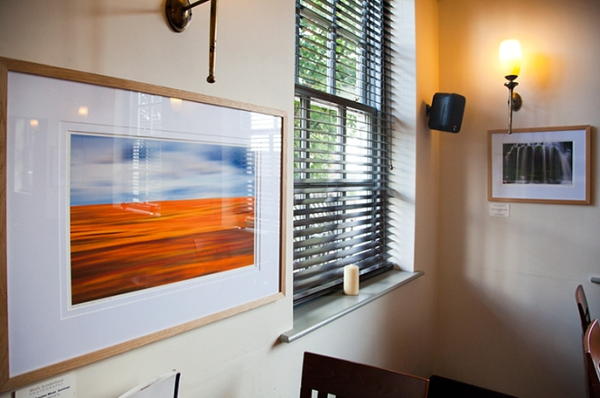 Landscape Expressions Photography Exhibition for Knaresborough feva Visual Arts Trail 2012 at The Mitre Inn