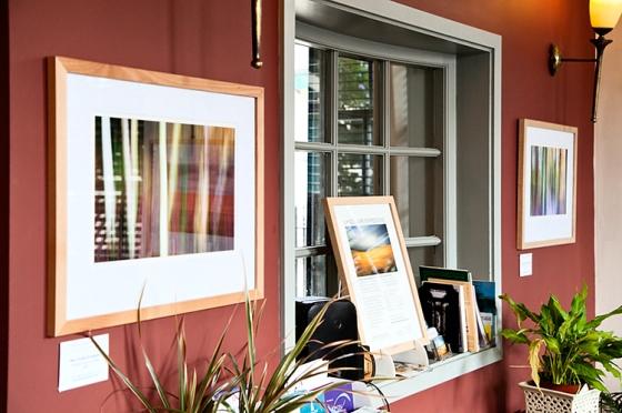 Landscape Expressions Photography Exhibition for Knaresborough feva Visual Arts Trail 2012 at The Mitre Inn
