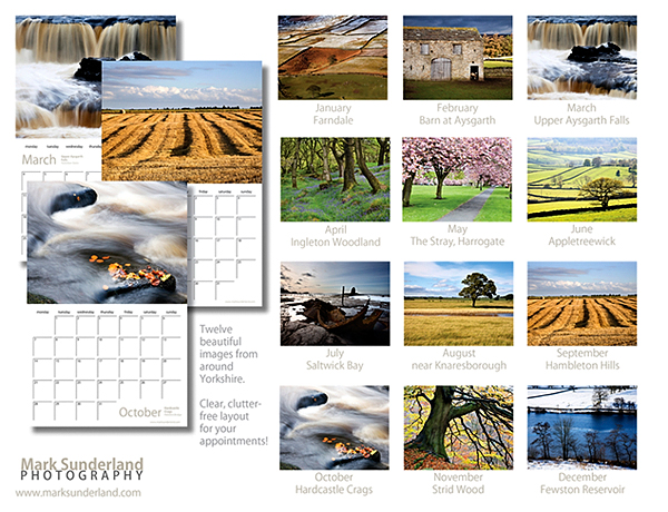 Yorkshire Through The Seasons 2013 - Back