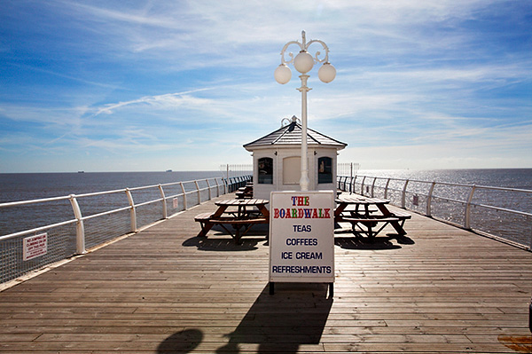 Boardwalk Cafe on the Pier at Felixstowe
