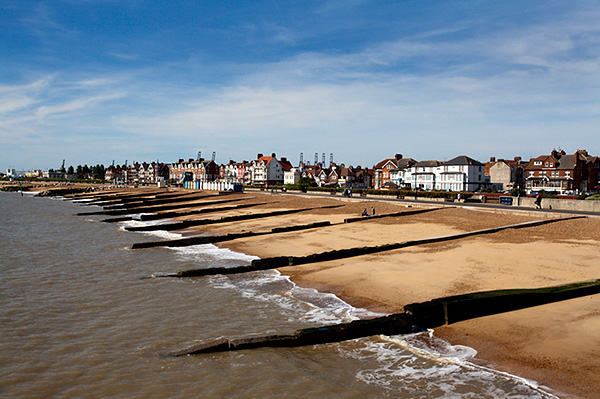 Felixstowe Beach from the Pier