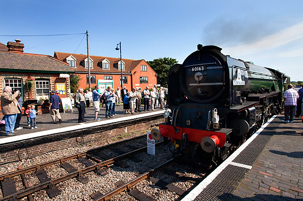 60163 Tornado Preparing for Service on the Poppy Line