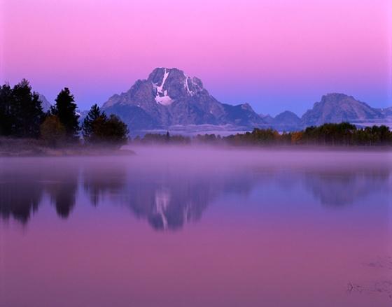 Mount Moran, Pre-dawn