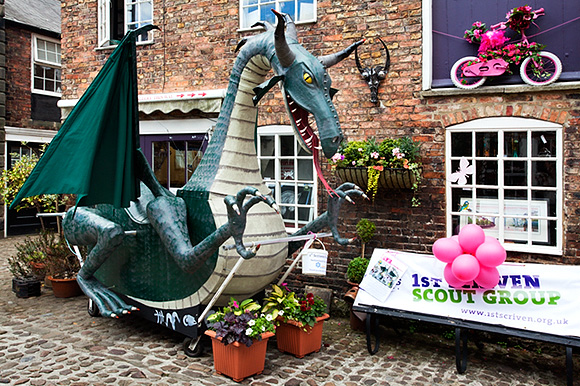 Green Dragon in Green Draggon Yard for feva 2013
