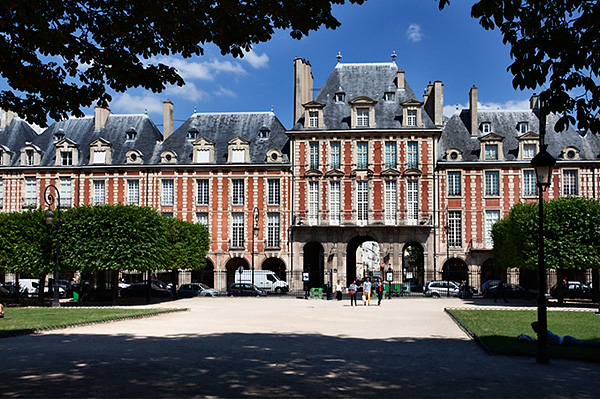 Place des Vosges in The Marais