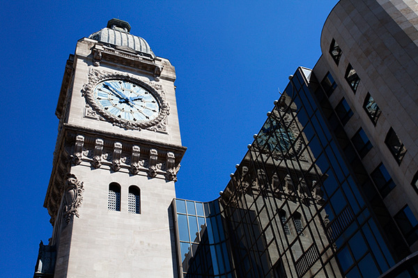 The Clock Tower at Gare de Lyon