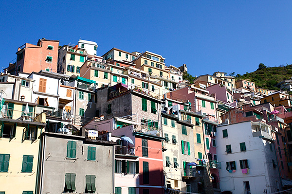 Colourful Buildings at Riomaggiore