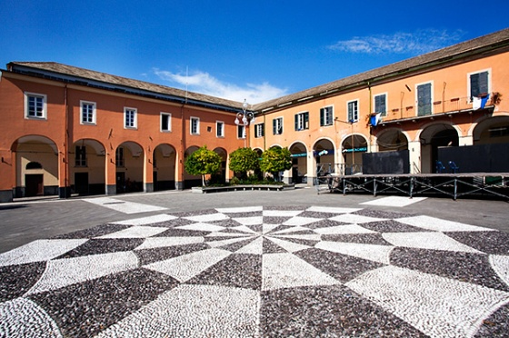 Town Hall and Piazza Cavour in Levanto