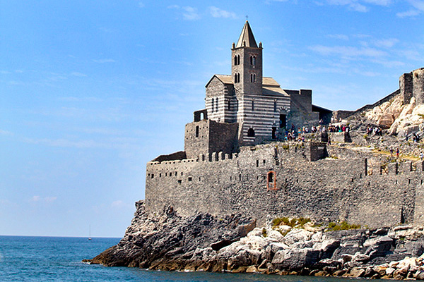 Church of St Peter on a Rocky Headland at Porto Venere