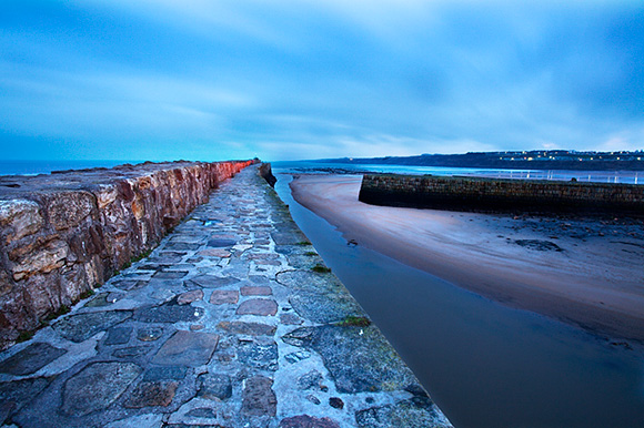 Pier at St Andrews Harbour before Dawn