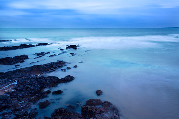 Rocks at East Sands before Dawn