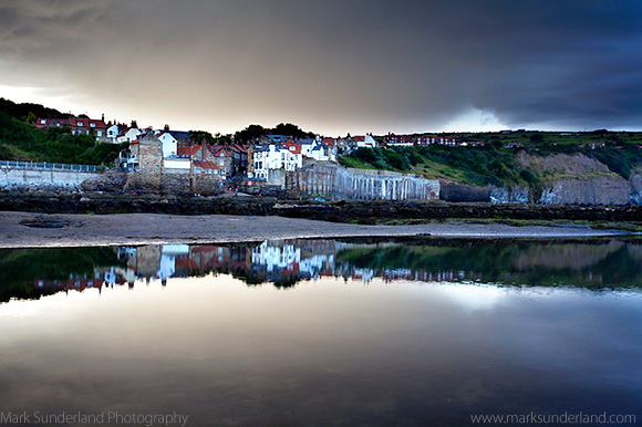 Stormy Sky at Robin Hoods Bay