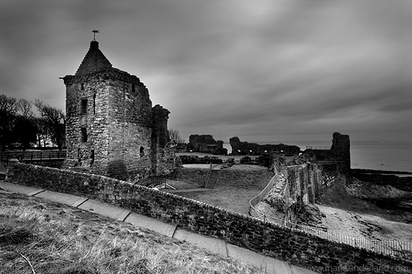 St Andrews Castle at Dusk