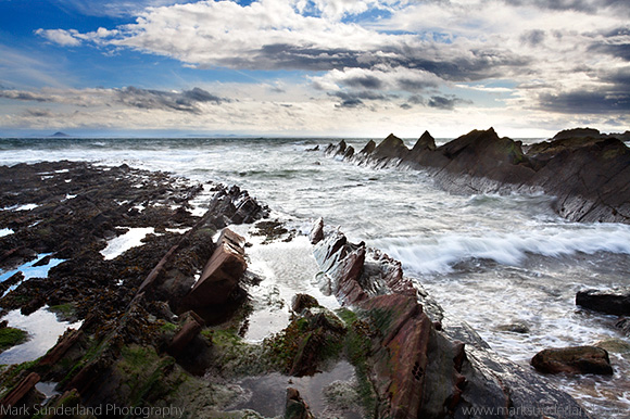 Stormy Weather over the Firth of Forth at St Monans, East Neuk of Fife, Scotland
