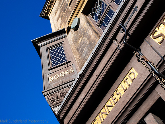 Bookshop on South Street in St Andrews Fife Scotland