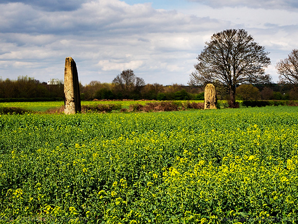 Devils Arrows Megalithic Stones at Boroughbridge North Yorkshire England