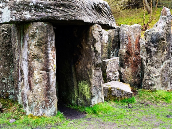 Stones at The Druids Temple