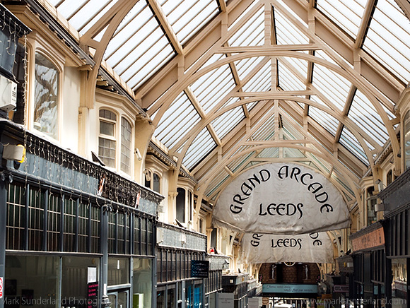 The Grand Arcade, Shopping Arcade off New Briggate