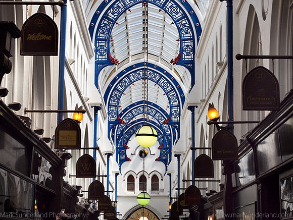 Thorntons Arcade in the Victoria Quarter
