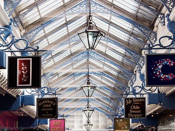 Queens Arcade in the Victoria Quarter