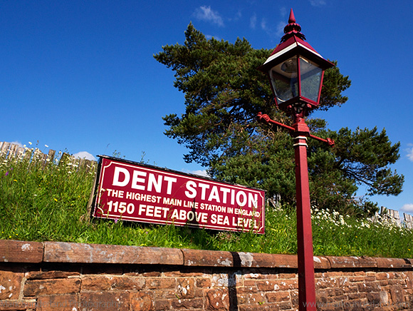 Dent Station the Highest Mainline Station in England Dentdale Yorkshire Dales Cumbria England