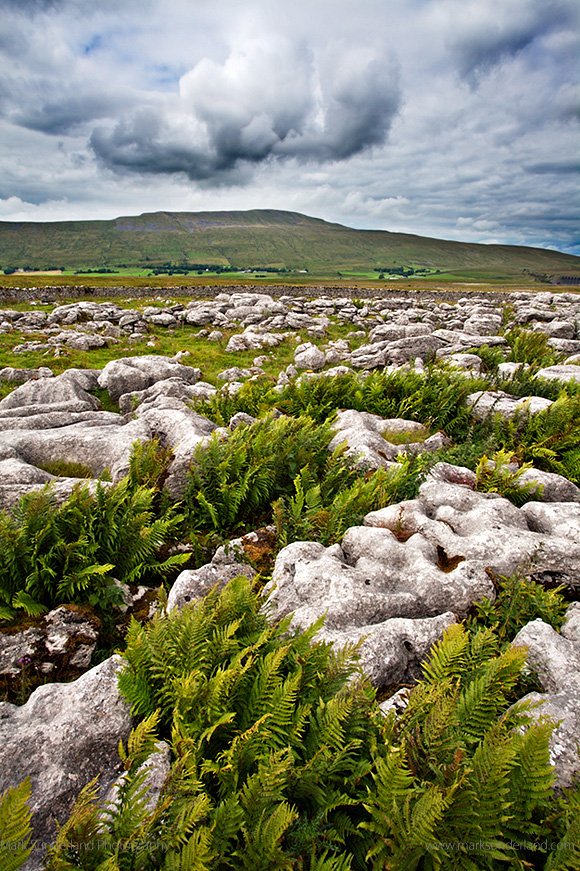 Clouds Over Whernside from Sleights Pasture Rocks