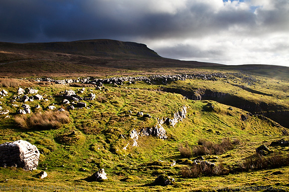 Pen Y Ghent from Horton Scar Lane