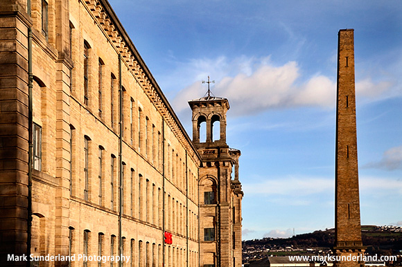 Salts Mill Art Gallery in Former Textile Mill Saltaire West Yorkshire England