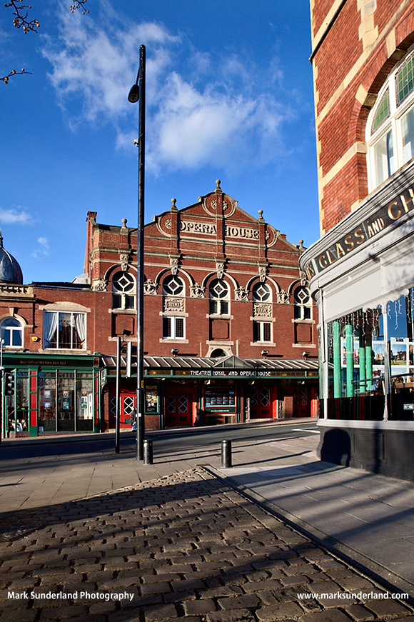 Theatre Royal and Opera House in Wakefield