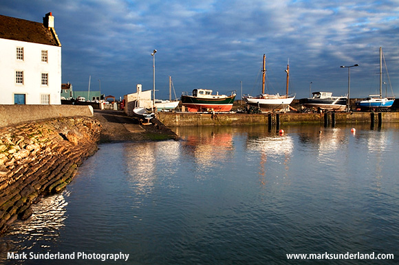 Boats in the Harbour at St Monans