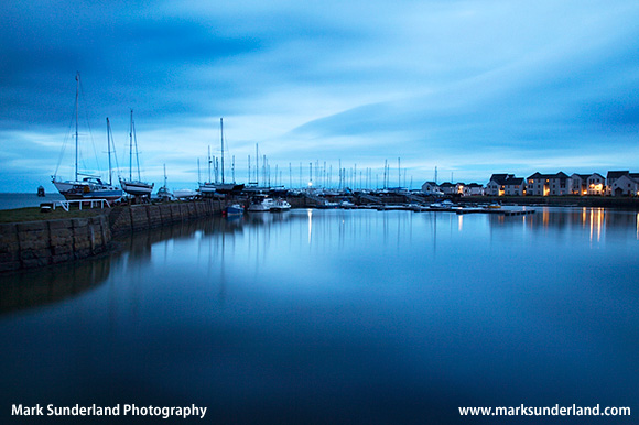 Tayport Harbour at Dusk Tayport Fife Scotland