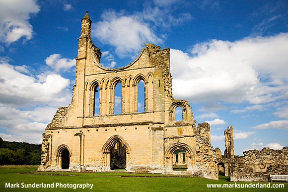Byland Abbey North Yorkshire England