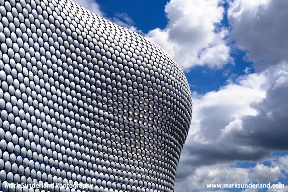 Selfridges Building at the Bullring in Birmingham City Centre West Midlands England