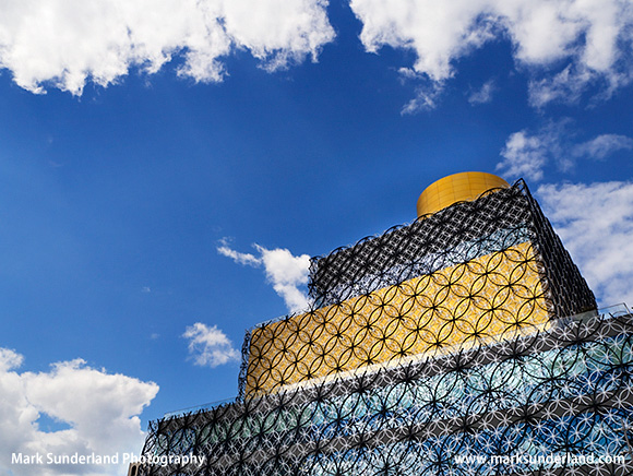 Library of Birmingham Building in Centenary Square Birmingham West Midlands England
