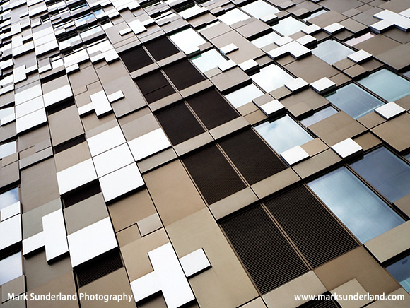 The Cube Office Retails and Residential Building in Birmingham West Midlands England