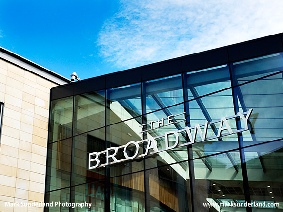 The Broadway Shopping Centre in Forster Square Bradford West Yorkshire England