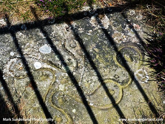 The Swastika Stone on Ilkley Moor