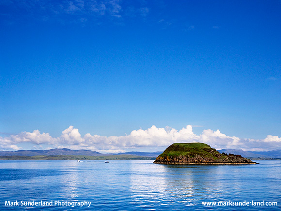 Maiden Island in Oban Bay Oban Argyll and Bute Scotland