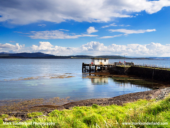Old Jetty at Achnacroish Isle of Lismore Argyll and Bute Scotland