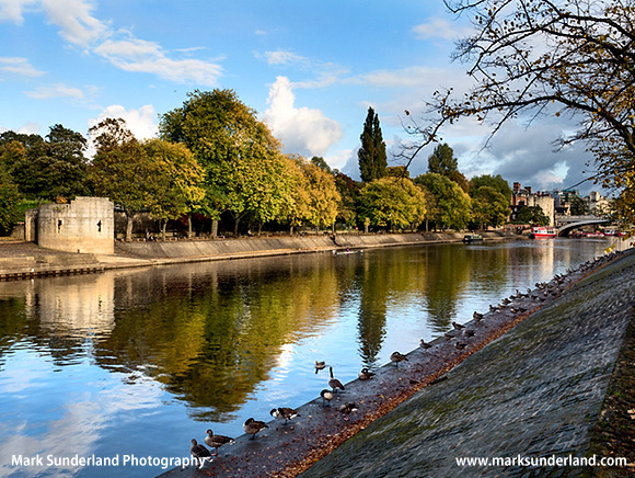 Autumn Colours by the River Ouse at York