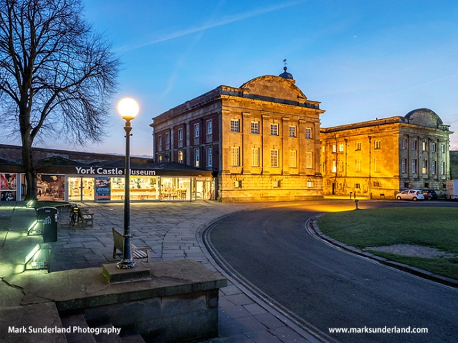 York Castle Museum at Dusk