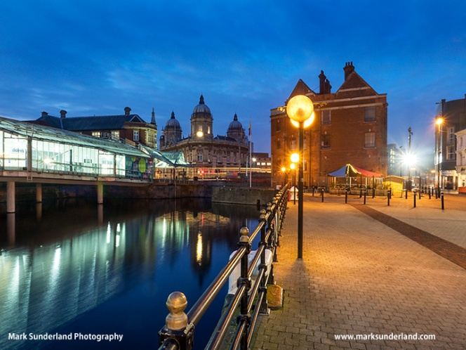 Princes Quay at Dusk in Hull