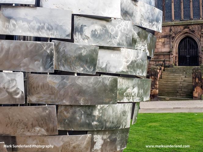 Heart of Steel Sculpture in Rotherham