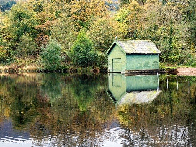 Boat House at Glasshouses Mill Pond