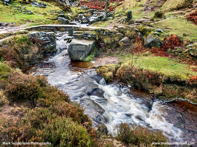 Bronte Bridge on Haworth Moor