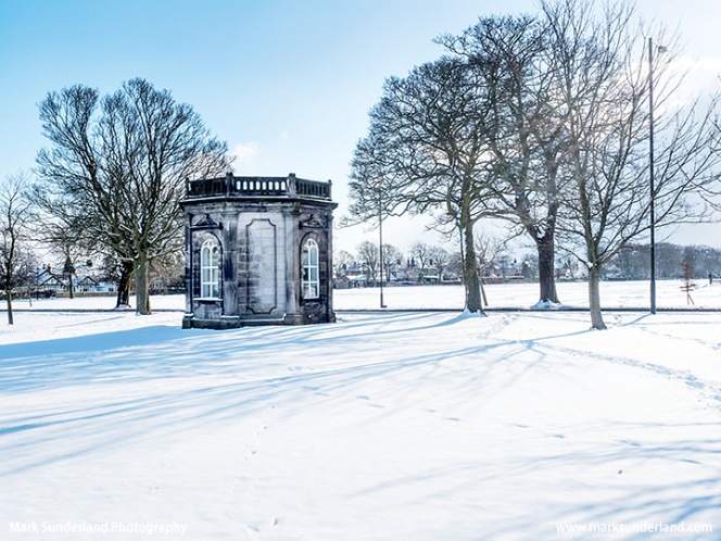 St Johns Well at Harrogate in Winter