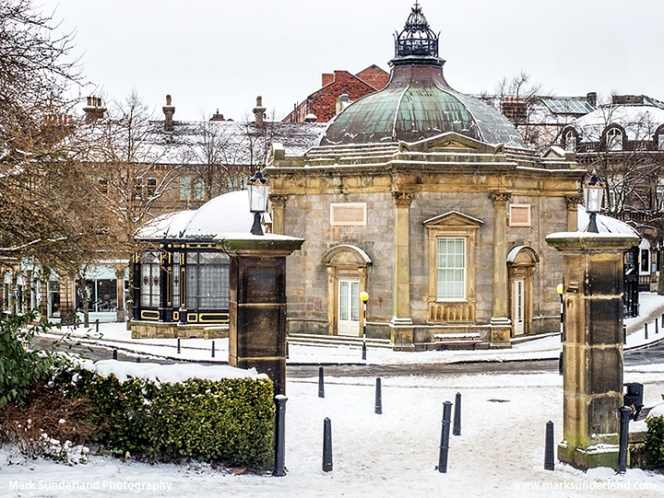 Royal Pump Room Museum in Winter at Harrogate