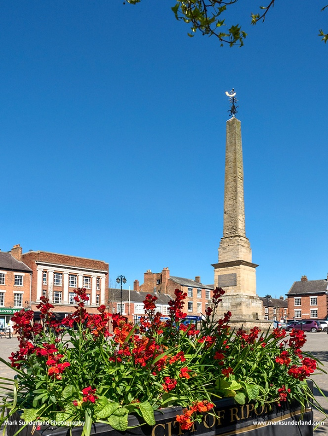 Obelisk in the Market Place at Ripon